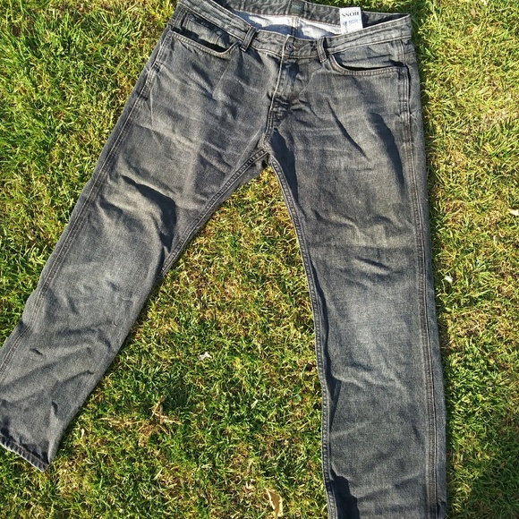 39986ca86 Hugo Boss Jeans | Vintage Grey Straight Leg Mens 36 | Poshmark